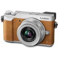 Panasonic LUMIX DMC-GX80 hnědý + objektiv 12-32mm - Digitální fotoaparát
