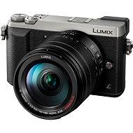 Panasonic LUMIX DMC-GX80 stříbrný + objektiv 14-140mm - Digitální fotoaparát