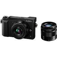 Panasonic LUMIX DMC-GX80 černý + objektiv 12-32mm + objektiv 35-100mm - Digitální fotoaparát
