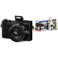 Panasonic LUMIX DMC-GX800 černý + objektiv 12-32mm + Alza Foto Video Starter Kit - Digitální fotoaparát