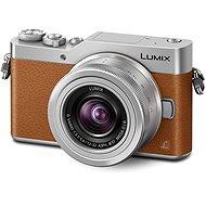 Panasonic LUMIX DMC-GX800 hnědý + objektiv 12-32mm - Digitální fotoaparát