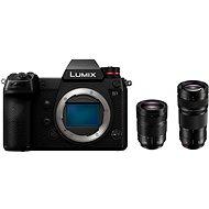 Panasonic LUMIX DC-S1 + objektiv 24-105mm + Panasonic Lumix S Pro 70-200mm f/4.0 OIS - Digitální fotoaparát