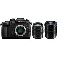Panasonic LUMIX DMC-GH5 + Leica DG 12-60 mm f/2.8-4.0 + Panasonic Lumix G X 12-35mm f/2.8 II Power O - Digitální fotoaparát