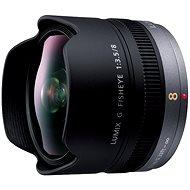 Panasonic Lumix G 8mm f/3.5 rybí oko  - Objektiv