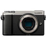 Panasonic Lumix DC-GX9 tělo stříbrný - Digitální fotoaparát