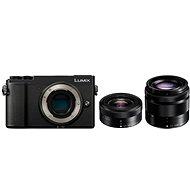 Panasonic Lumix DC-GX9 + 12-32 mm + 35-100 mm černý - Digitální fotoaparát