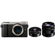 Panasonic Lumix DC-GX9 + 12-32 mm + 35-100 mm stříbrný - Digitální fotoaparát