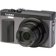 Panasonic Lumix DC-TZ90 stříbrný - Digitální fotoaparát