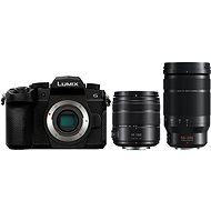 Panasonic LUMIX DC-G90 + Lumix G Vario 14-140mm černý + Panasonic Leica DG Elmarit 50-200mm f/2.8-4.