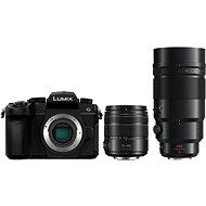 Panasonic LUMIX DC-G90 + Lumix G Vario 14-140mm černý + Panasonic Leica DG Elmarit 200mm f/2.8 Power