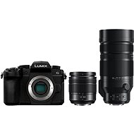 Panasonic LUMIX DC-G90 + Lumix G Vario 12-60mm černý + Panasonic Leica DG Vario-Elmar 100-400mm f/4.