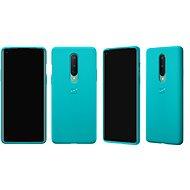 OnePlus 8 Sandstone Bumper Case (Cyan) - Kryt na mobil