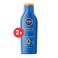 NIVEA SUN Protect & Moisture Lotion SPF 30 2 ×