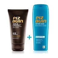 PIZ BUIN Tan & Protect Lotion SPF15 + After Sun Soothing&Cooling Lotion - Kosmetická sada