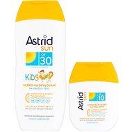 ASTRID SUN Dětské mléko na opalování OF 30200 ml+ Hydratační mléko na opalování OF 1080 ml