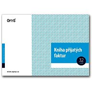 OPTYS 1009 Invoice Received Book - Form