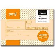 OPTYS 1091 Receipt Cash Receipt - Form