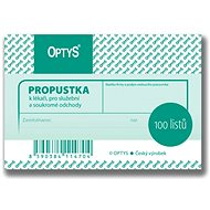 OPTYS 1147 Pass - Form