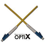 OPTIX LC-LC optický patch cord 09/125 1m G657A simplex
