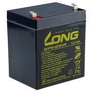 Long 12V 5Ah olověný akumulátor HighRate F1 (WP5-12SHR F1) - Nabíjecí baterie