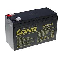 Long 12V 7.2Ah olověný akumulátor F2 (WP7.2-12 F2)