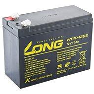 Long 12V 10Ah olověný akumulátor DeepCycle AGM F2 (WP10-12SE) - Nabíjecí baterie