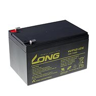 Long 12V 12Ah olověný akumulátor DeepCycle AGM F2 (WP12-12E) - Nabíjecí baterie