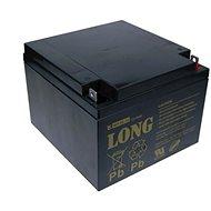 Long 12V 26Ah olověný akumulátor F3 (WP26-12) - Nabíjecí baterie