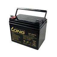 Long 12V 33Ah olověný akumulátor F4 (U1-33H) - Nabíjecí baterie
