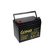 Long 12V 34Ah olověný akumulátor DeepCycle AGM F4 (U1-34HE) - Nabíjecí baterie
