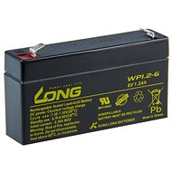 Long 6V 1.2Ah olověný akumulátor F1 (WP1.2-6) - Náhradní baterie