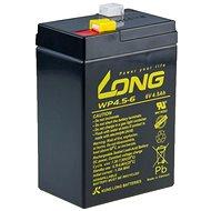 Long 6V 4.5Ah olověný akumulátor F1 (WP4.5-6) - Nabíjecí baterie