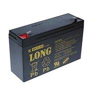 Long 6V 12Ah olověný akumulátor F1 (WP12-6S) - Nabíjecí baterie