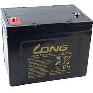 Long 12V 75Ah olověný akumulátor Deep Cycle AGM F8 (KPH75-12N) - Trakční baterie