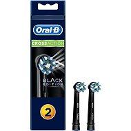 Oral-B náhradní hlavice EB50 CrossAction Black 2ks - Náhradní hlavice k zubnímu kartáčku