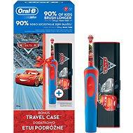 Oral-B Vitality Cars + cestovní pouzdro - Elektrický zubní kartáček pro děti