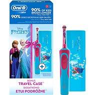 Oral-B Vitality Frozen + cestovní pouzdro - Elektrický zubní kartáček pro děti