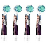 Oral-B Kids Frozen 2 Brush Heads for Electric Toothbrush, 4 pcs
