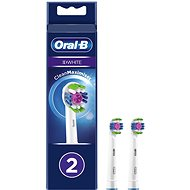 Oral-B 3D White Brush Head with CleanMaximiser Technology, Pack of 2