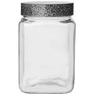 Dóza sklo/UH GRANIT hranatá 1,5 l  - Dóza
