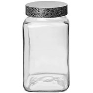 Dóza sklo/UH GRANIT hranatá 2 l  - Dóza