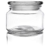 Dóza sklo s víkem 0,38 l kulatá  - Dóza