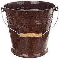 Bucket Enamel BROWN 10l - Bucket