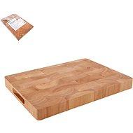 ORION Krájecí deska gumovníkové dřevo 35x25x3,3 cm - Krájecí deska