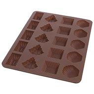 Forma silikon PRACNY 20 mix HNEDA  - Pečící forma