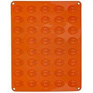 Forma silikon OŘECHY 40 oranžová