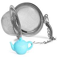 Čajítko nerez pr. 5,4 cm+přívěšek KONVIČKA  - Sítko na čaj