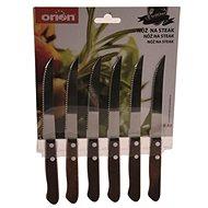 Orion Steakový, nerez/dřevo 6ks  - Nůž