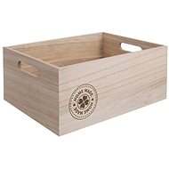 Bedýnka dřevo HOME MADE 26x16x11 cm  - Úložný box