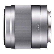 Sony 50mm f/1.8 stříbrný